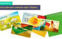 Какие существуют виды банковских платежных карт?